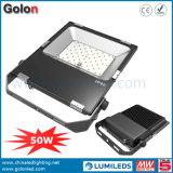 indicatore luminoso di inondazione esterno di prezzi di fabbrica 110lm/W SMD 3030 luminosi eccellenti LED 50W