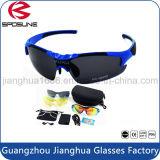Form-quadratisches freies Sonnenbrille-Frauen-Marken-Entwerfer-Weinlese-Mann-Sport-Glas-kundenspezifisches Firmenzeichen polarisierte Sonnenbrillen