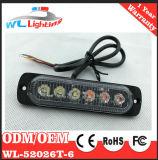 luz exterior brillante Emergency amonestadora de la parrilla de la policía de 24V LED