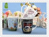 Tazas de cerámica del café promocional con la impresión de la maneta