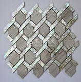 Mosaico de agua dulce 45*65 del shell y del mármol