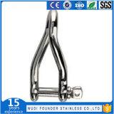 Jumelle de la torsion Ss304 ou Ss316 d'acier inoxydable