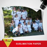 Papel de transferencia de la camiseta de la inyección de tinta del color oscuro para el papel material de la foto del algodón