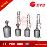 destilador quente do álcôol do equipamento da destilação do álcôol etílico do aço inoxidável da venda 100L
