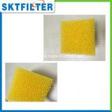 medias blancs et jaunes de 40ppi de mousse d'éponge
