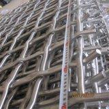 電流を通されるか、またはステンレス鋼の鉱山によってひだを付けられる金網