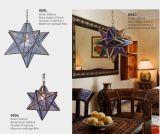 Marokkanischer Kirche-Dekor-hängende Messinglichter (KA050DS)