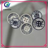 Лазер гравируя вокруг кнопок костюма платья рубашки кнопки