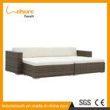 El ocio excelente de la calidad diseña el conjunto al aire libre del sofá de los muebles del jardín de la rota