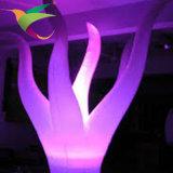 Iflt-17021308 imprägniern haltbare weiße aufblasbare LED-Beleuchtung-Qualle-Dekorationen