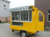 China Mobile Food Cart Trailer Mobile para cozinhar