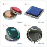 Casella del compatto dell'oro della Rosa di marchio personalizzata fabbrica/specchio compatto