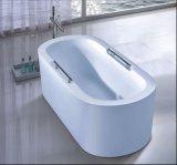 1700mmの長円のホテルのプロジェクト(AT-9059)のための支えがない浴槽の鉱泉