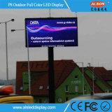 Indicador de diodo emissor de luz impermeável ao ar livre da cor P8 cheia para anunciar