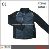 OEM Mais recente Design Softshell Mens Black Padding Jacket