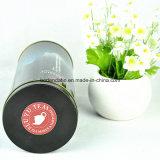 Коробка олова изготовленный на заказ большого высокорослого круглого печенья упаковывая с подгонянным печатание 4 цветов