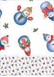 Mantel al por mayor de la Navidad del partido de las decoraciones del mantel de la Navidad
