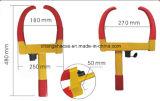 Rojo y amarillo con las abrazaderas de rueda portables del bloqueo de cobre