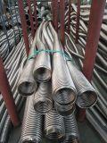 Manguito flexible acanalado del acero inoxidable