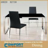 Mobília de mármore da tabela de jantar do projeto luxuoso