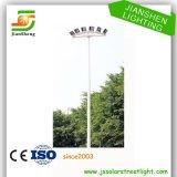 Iluminação elevada de aço galvanizada pólo do mastro Q235
