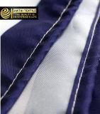 Tenda di acquazzone a strisce blu e bianca di lusso su ordinazione