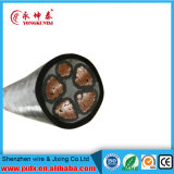Cable aéreo de bajo voltaje XLPE Conductor de cobre con aislamiento de PVC / vaina de energía