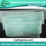Capa absorbente no tejida de la adquisición de las materias primas de la servilleta sanitaria del Adl del pañal del bebé buena