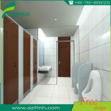 Partition de toilette en stratifié compacte public moderne