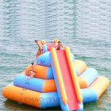 5mのウォーター・スポーツのゲームのための上昇の壁膨脹可能な水おもちゃ