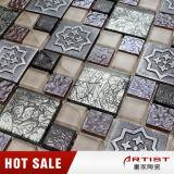 Шикарная и романтичная мозаика смолаы смешивания кристаллический стекла типа