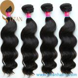 Tissage indien de cheveu de cheveux humains de Vierge de vente d'usine