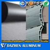 Rolo de alumínio Popular Shutter armário de cozinha Extrusão de Alumínio Perfil