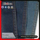 Ткань джинсовой ткани горячего Twill сбывания 21s синяя для куртки