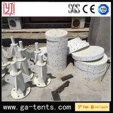 Tente de Tensiile de tente de membrane de chapeau de la structure métallique deux