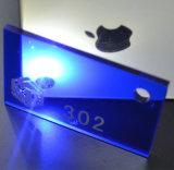 Het goede het Verouderen AcrylBlad van de Weerstand PMMA MMA PS voor de AcrylOrnamenten van Kerstmis (1 2 3 4mm tot 50mm)