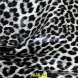 cuir synthétique d'unité centrale des graines de léopard de mode pour la fabrication de chaussures