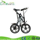 Projeto da X-Forma da liga de alumínio bicicleta de dobramento de 16 polegadas