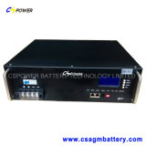 batterie di litio di telecomunicazione di 24V 100ah, batteria del fosfato del ferro del litio di Cspower per memoria di telecomunicazione