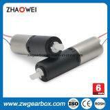 Redução de velocidade 136 Cabeça de engrenagem em miniatura de plástico de 6mm