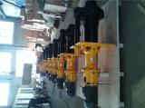 Gummi gezeichnete zentrifugale vertikale Sumpf-Hochleistungspumpe für Bergbau (65QV-SPR)