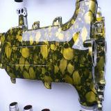 Bomba No. H01swl092b de la etiqueta engomada de la película de la impresión de la transferencia del agua del superventas