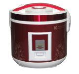 Cuiseur de riz de luxe avec le bac intérieur d'enduit antiadhésif