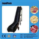 Transporte Inclined do produto comestível da correia da baixa manutenção plástica modular