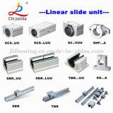 Bloque de almohadilla linear del movimiento de la diapositiva del rodamiento de China (serie de SBR… LUU 16-40 milímetros)