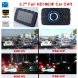 Nova Carcaça Privada Original 2.7inch Car Black Box Dash DVR com Full HD1080p Gravador de Vídeo Digital de Carro, 5mega Carmera, Controle de Estacionamento, Sensor G, saída HDMI DVR-272