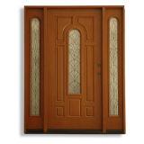 Белый ровный лист двери кухни