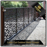 Los paneles al aire libre cortados laser modificados para requisitos particulares de la pantalla de la hoja de metal para la cerca del jardín