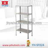 Estante común del almacenaje de alambre de acero de 4 gradas (YH-SF024)