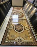 azulejos de oro de la moqueta del estilo musulmán de la sala de estar de 1800*1200m m